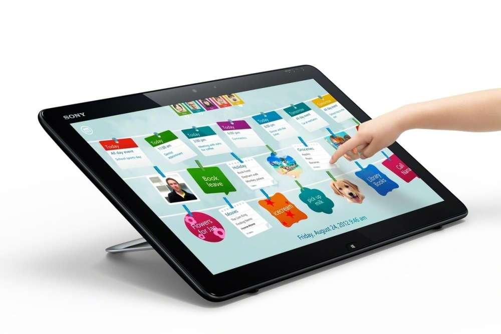 All new Sony Vaio – με αφή και Windows 8…