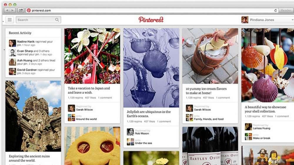 Pinterest – με νέο Pin Σχεδιασμό, Universal Menu Button…