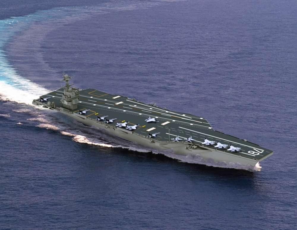 USS GERALD R. FORD [CVN-78] 01