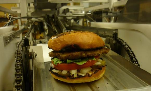 Ένα roboεργοστάσιο για burger…