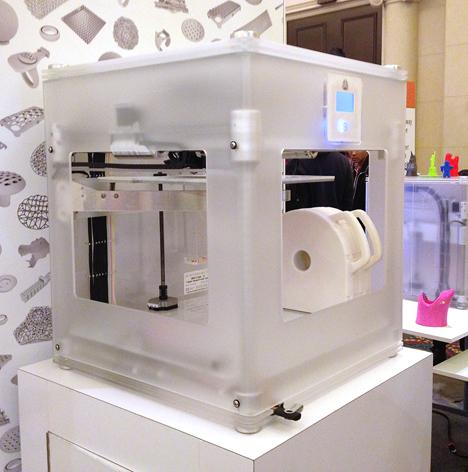 CES 2013 – βραβείο για 3D εκτυπωτή…