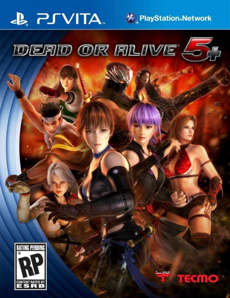 Dead or Alive 5 Plus Box Art