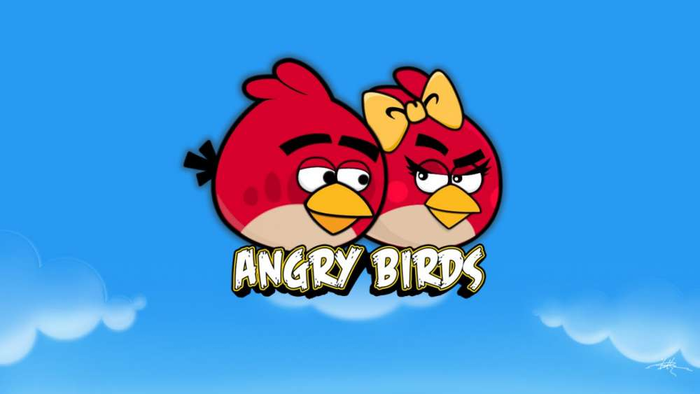 Angry Birds Cartoon;