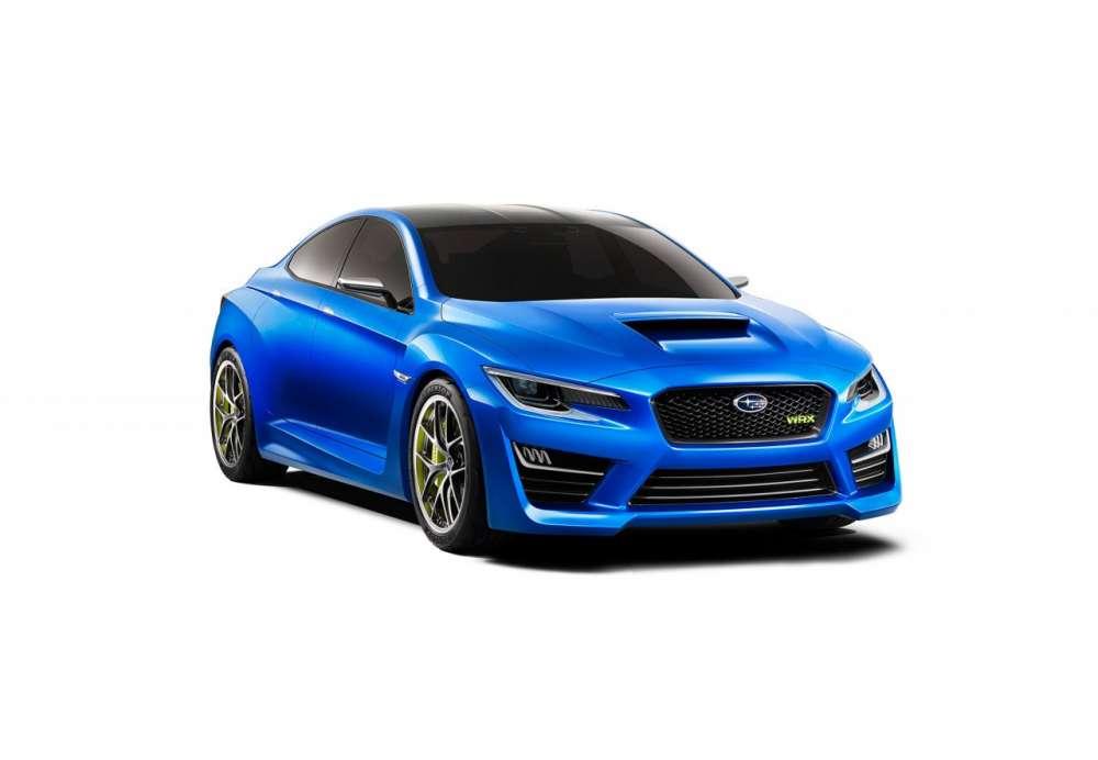SUBARU CANADA INC. - The all-new Subaru WRX Concept debuts
