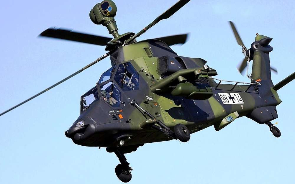 Eurocopter EC 665 Tiger Attack Helicopter