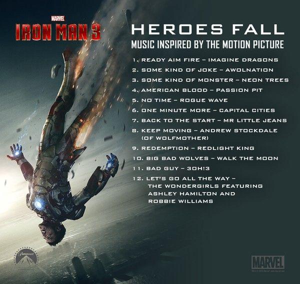 """Iron Man 3"" Soundtrack"