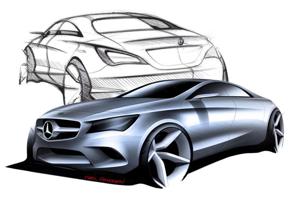 Mercedes benz cla class gallery gadgetfreak not for Mercedes benz design