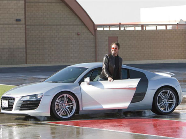 Tony Stark – ένα Audi R8 e-tron στο Iron Man 3…