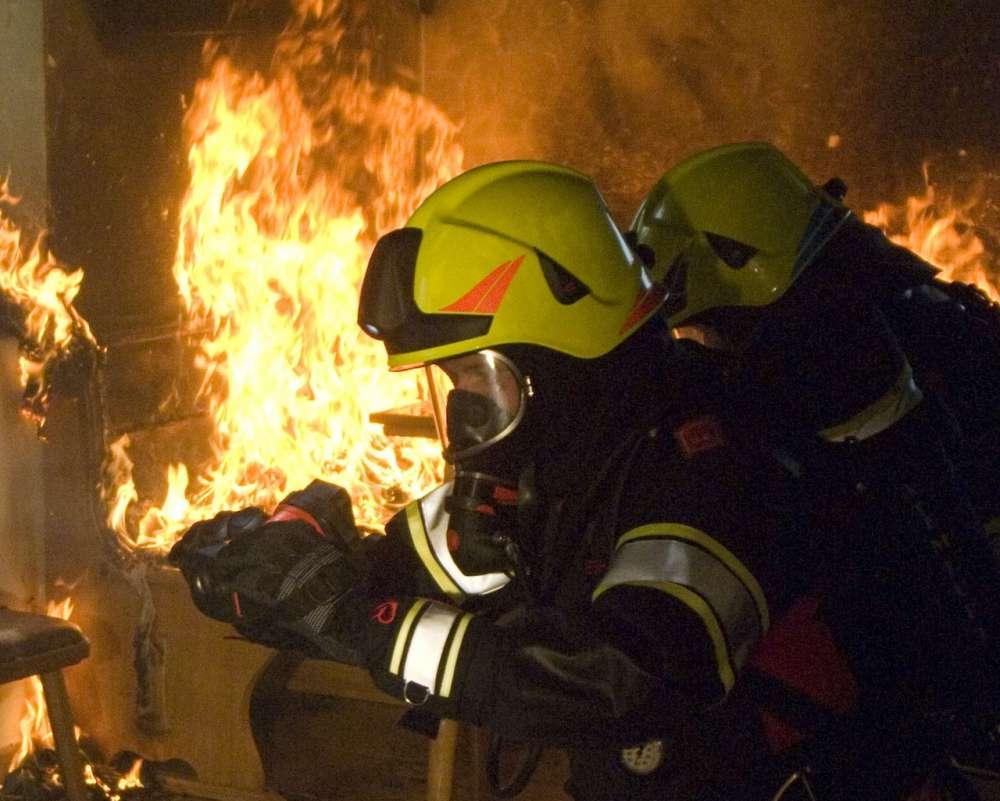 Rosenbauer firefighting helmet