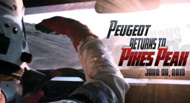 Peugeot – επιστρέφει στο Pikes Peak με τον Sébastien Loeb…