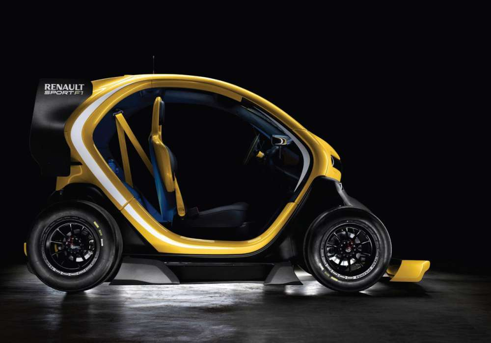 twizy renault sport f1 concept gadgetfreak not just tech. Black Bedroom Furniture Sets. Home Design Ideas