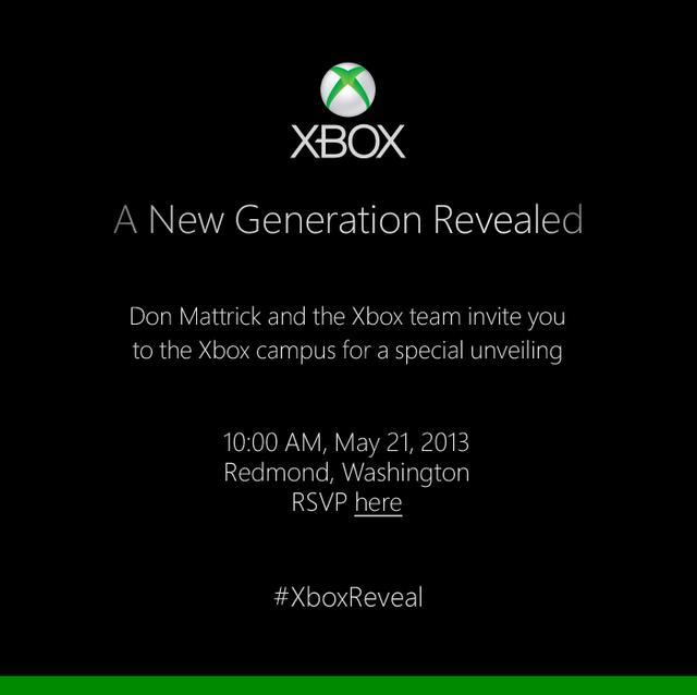 Xbox 720 – θα εμφανιστεί στις 21 Μάη…