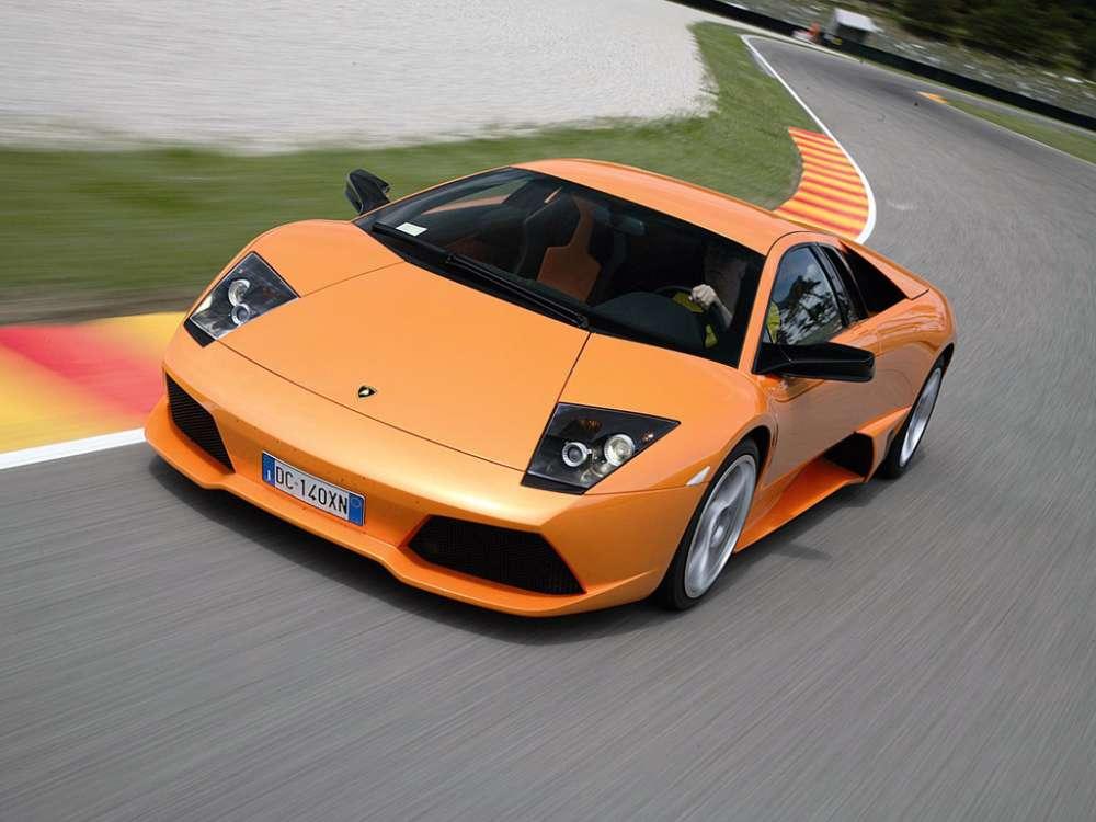 Μια πληγωμένη Lamborghini Murcielago…