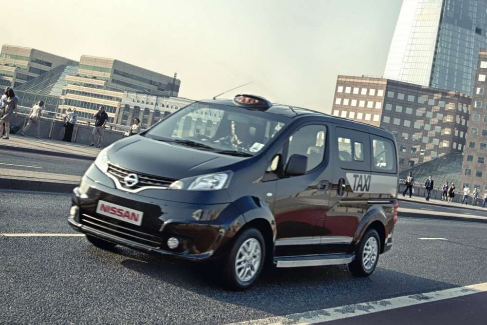 Nissan NV200 London Black Cab