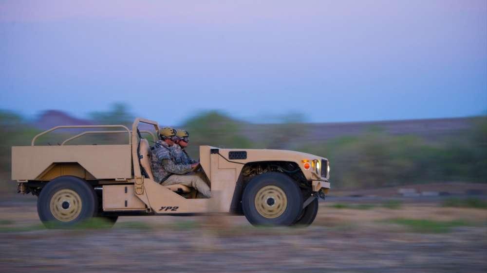Boeing Phantom Badger Combat Jeep