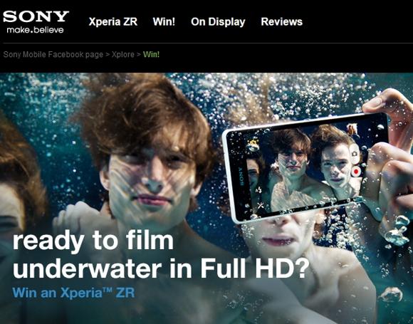 Sony Xperia ZR στα €479