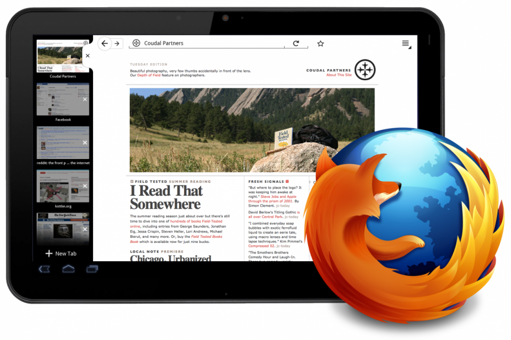 Firefox 21 για Android