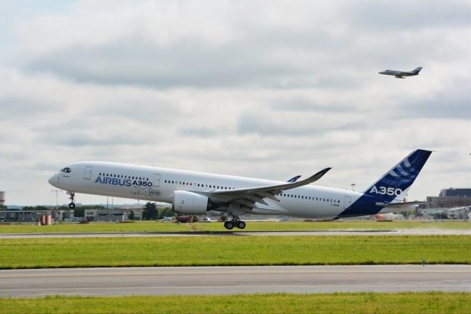 Πετά το Airbus A350-XWB…