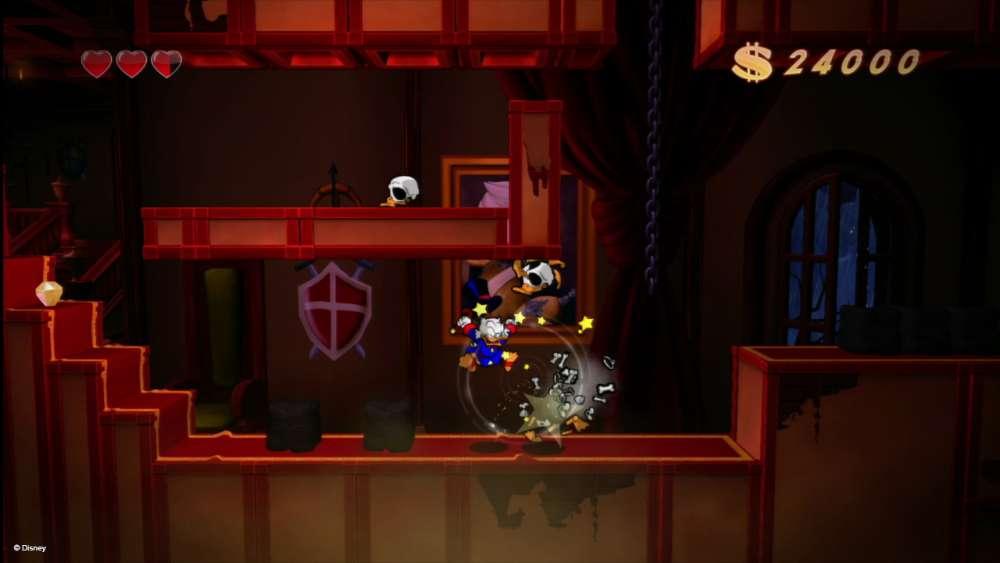 DuckTales Remastered Transylvania & Amazon Gameplay