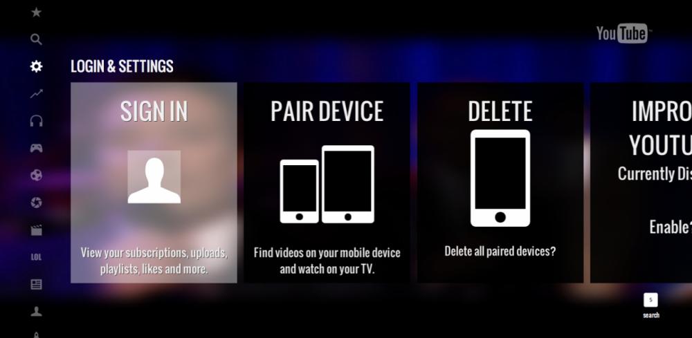 YouTube – αναβάθμιση για την PS3 App με 'Send To TV'…