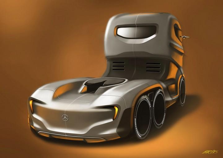 Mercedes-Benz Axor Truck Concept