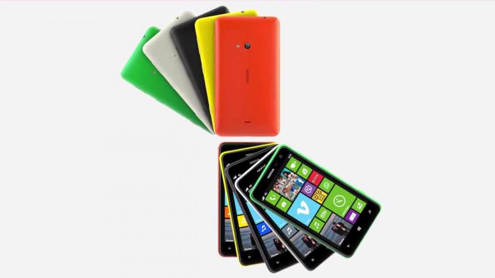 Nokia Lumia 625 Promo βίντεο