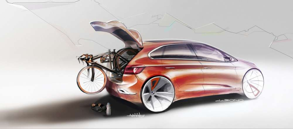 BMW Concept Active Tourer design gallery