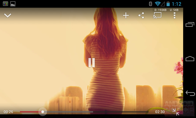 YouTube για Android – αναβάθμιση..