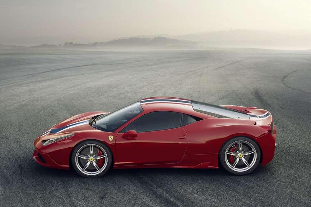Ferrari 458 Speciale teaser video