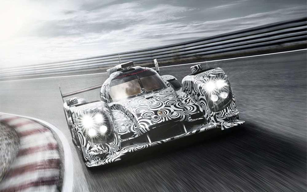 Porsche LMP1 racecar