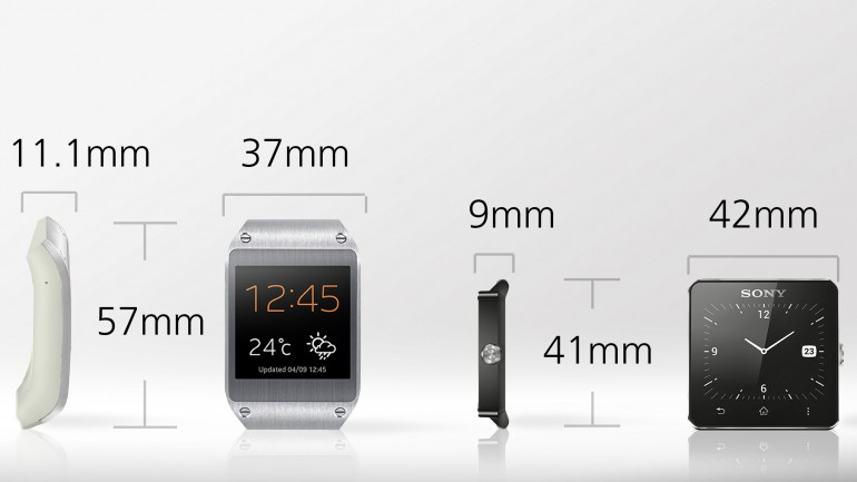 Σταυρόπουλος Άκης: Samsung Galaxy Gear vs. Sony Smartwatch 2