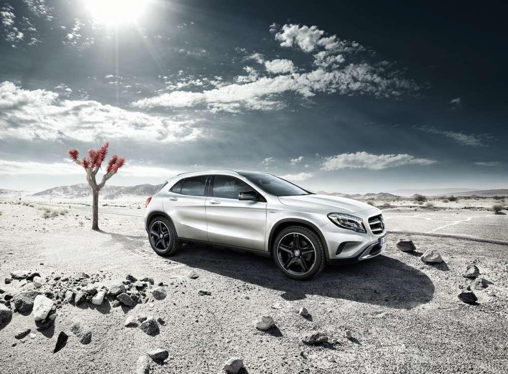 2014 Mercedes GLA Edition