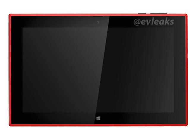 Nokia Lumia 2520 Press Render