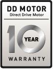 LG 10 Year Warranty Emblem - Inverter Direct Drive