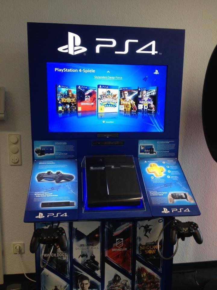 Αυτό είναι το PlayStation 4 Demo Station;