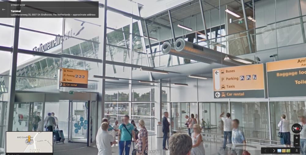 Street View σε 65 αεροδρόμια και σταθμούς τρένων…