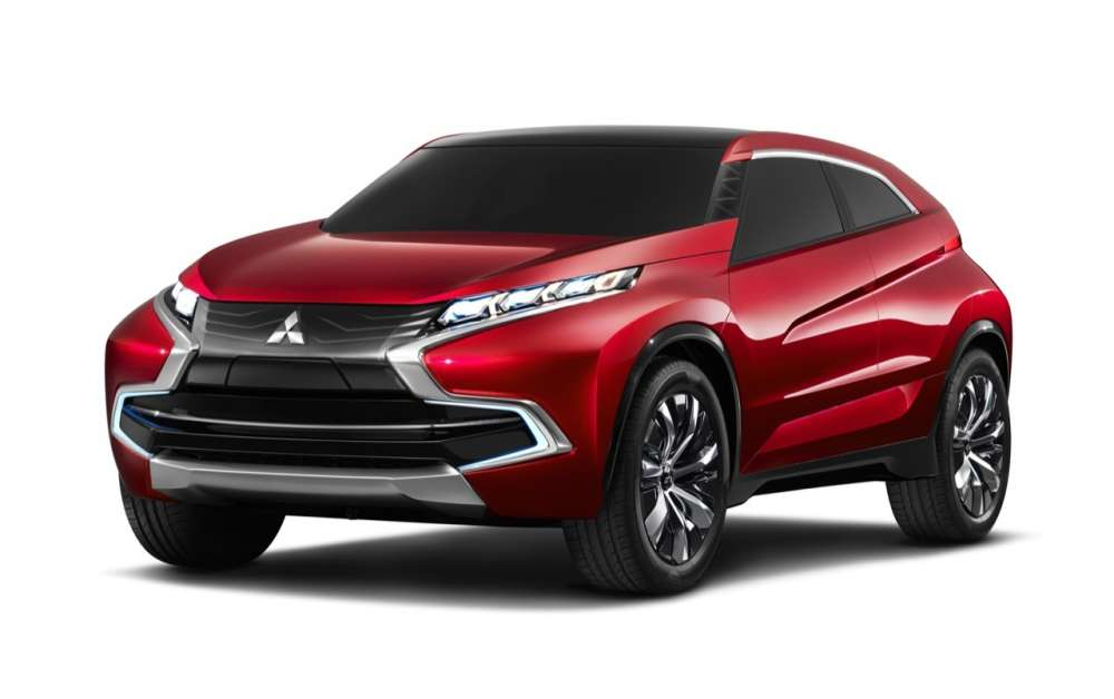 Mitsubishi Concept XR Exterior (Light On)