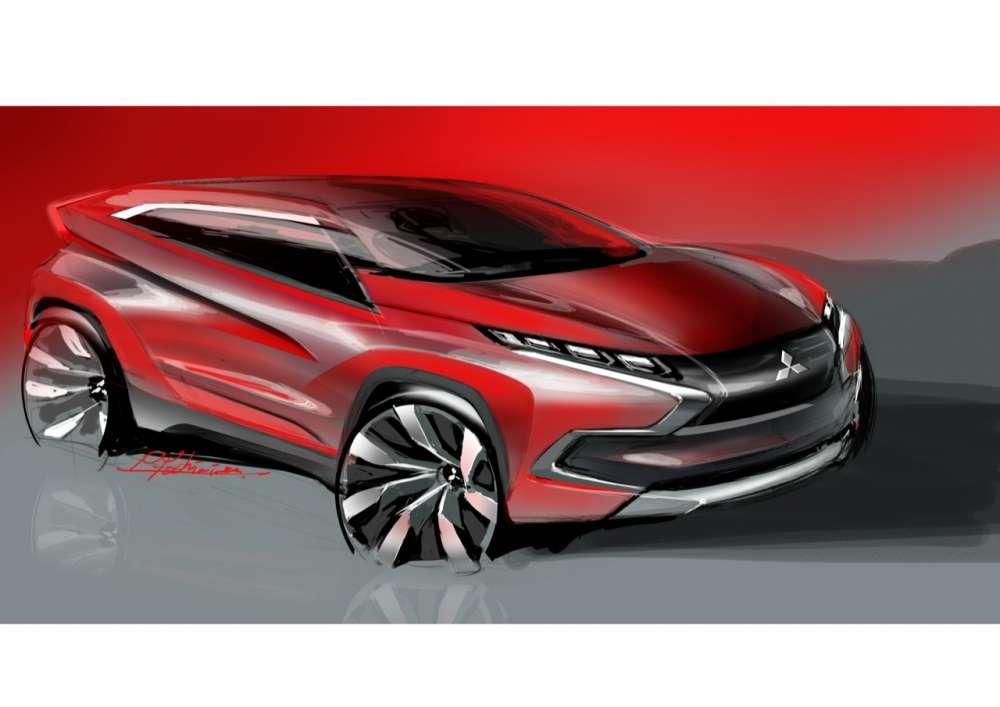 Mitsubishi Concept XR Exterior