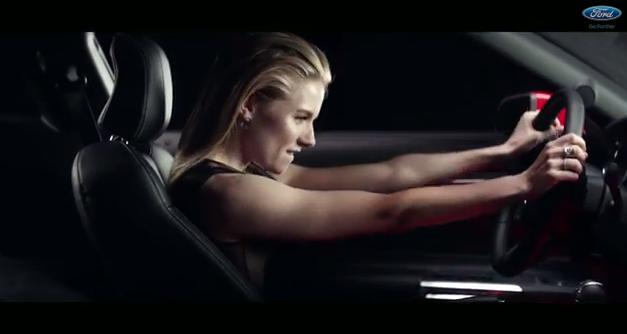 Sienna Miller +  Ford 2015 Mustang