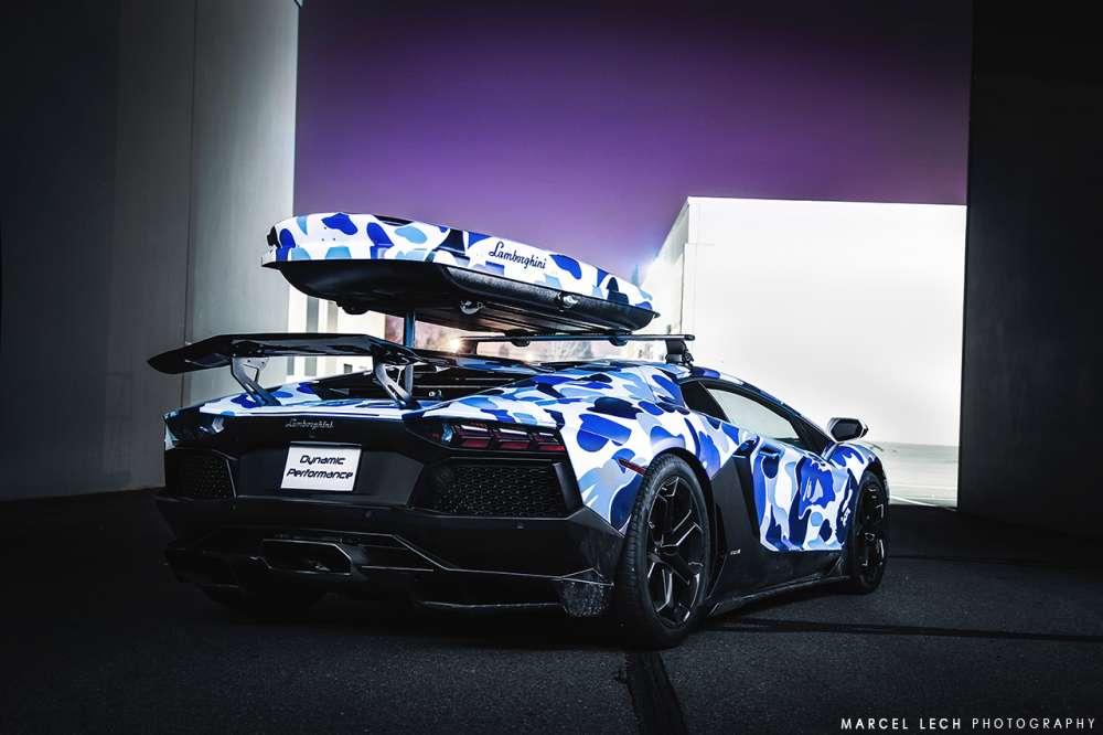 Lamborghini Aventador Ski Car
