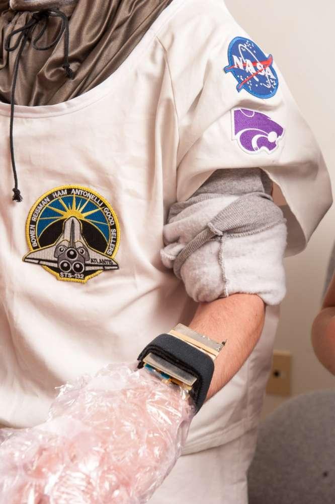 Διαστημική στολή με ενέργεια από το σώμα…