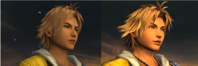 Final Fantasy X HD vs. SD