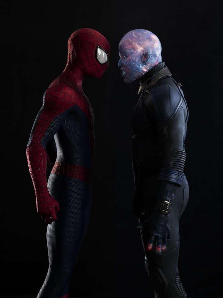 The Amazing Spider-Man 2 – Times Square scene…