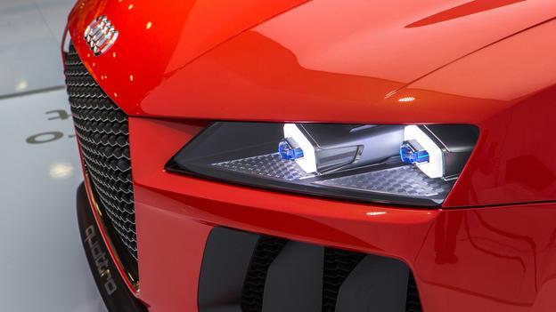 CES 2014 – Audi Sport Quattro Laserlight concept