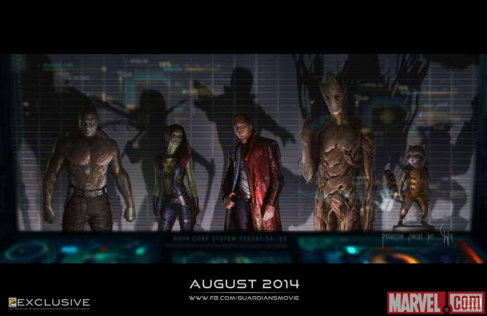 Guardians of the Galaxy – Official Sneak Peek