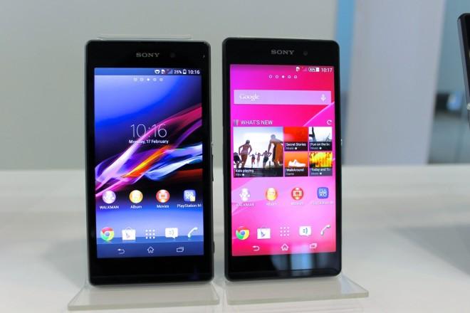Sony Xperia Z2 Vs Xperia Z1 specs…