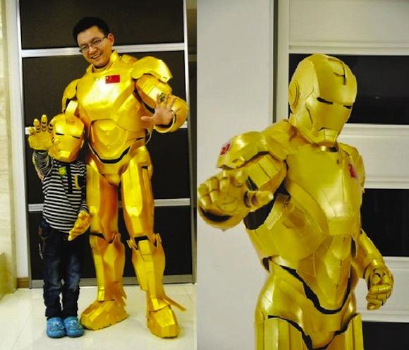 Έφτιαξε στολή Ironman για το γιό του…