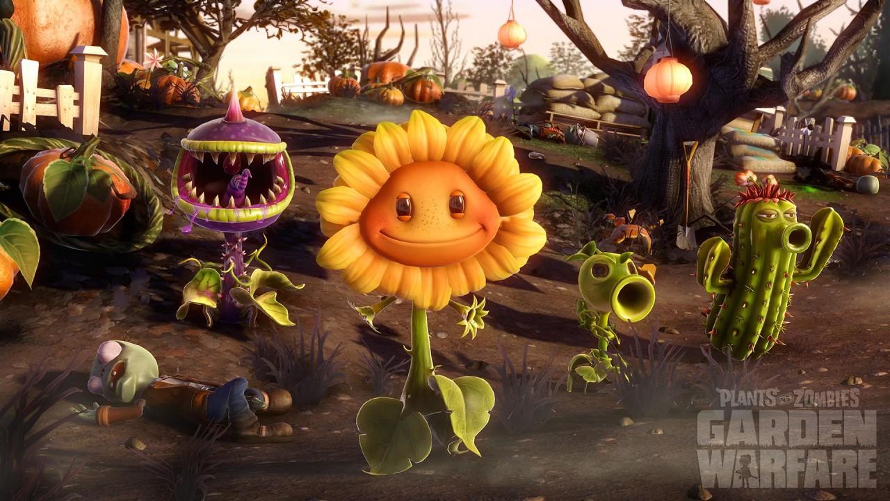 PS3 & PS4 Garden Warfare