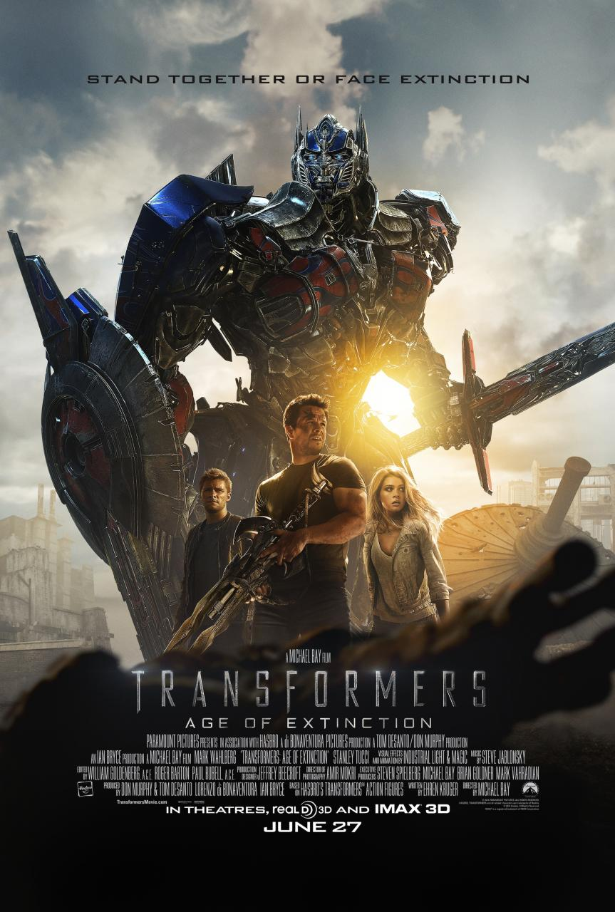Transformers: Age of Extinction Exclusive Trailer #2