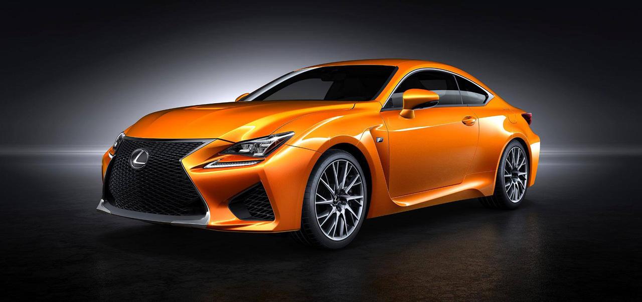 Lexus orange shade RC F